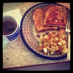 cooking- french toast
