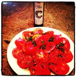 Tomato marinade Gaea's balsamic sauce