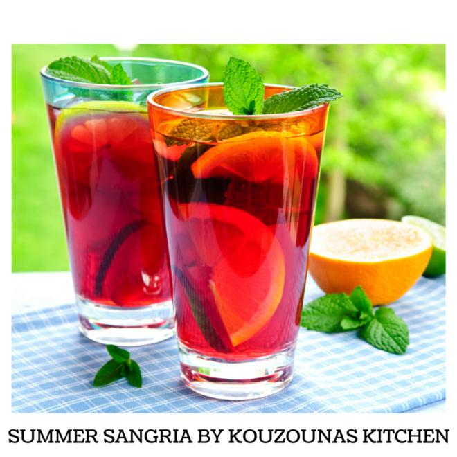 Summer Sangria By Kouzounas Kitchen